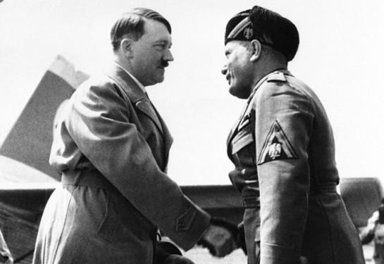 Муссолини являл собой полную противоположность фюреру