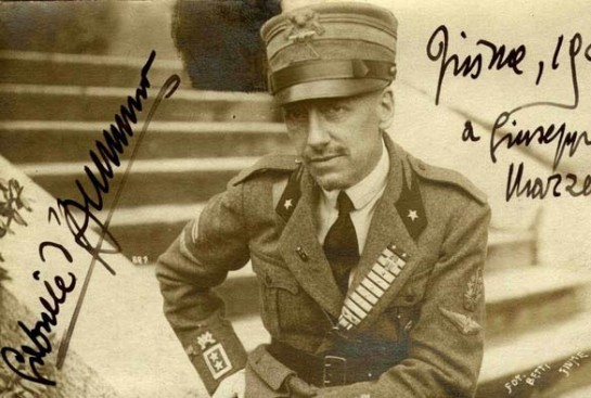 В Фиуме Габриэле д'Аннунцио звали просто - Команданте