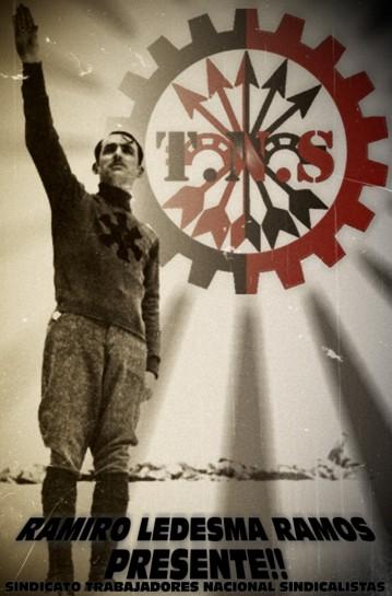 Основатель Хунт национал-синдикалистского наступления Рамиро Ледесма Рамос