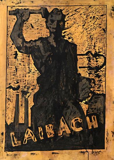 """""""Наша работа индустриальная, наш язык — политический. Наш материал для манипуляций: тейлоризм, нацистское искусство, диско-музыка. Мы действуем как театр народной культуры. Мы верим в негативную утопию: эра мира закончилась"""", - заявляют участники """"Laibach"""""""
