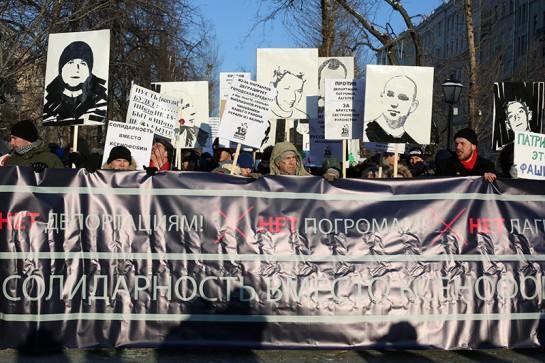 19 января вспоминают всех убитых «нацистами». Но ежегодная антифа-акция появилась только после расстрела Маркелова