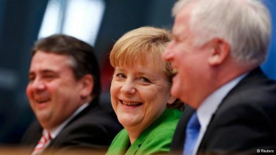 """17 декабря на заседании бундестага Ангелу Меркель избрали канцлером Германии. Этот пост она заняла уже в третий раз. Это стало первым шагом очередной """"большой коалиции"""""""