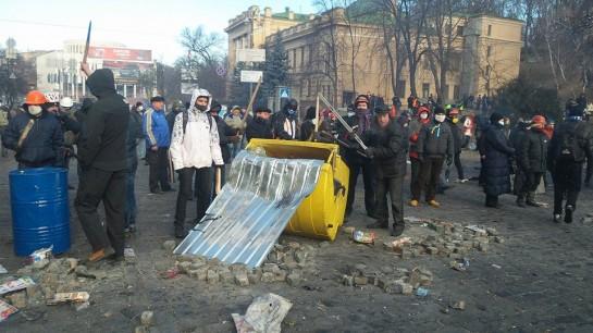 События на улице Грушевского киевляне не воспринимают как провокацию, скорее, провокация — это последние действия правящей клики