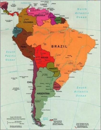 В Южной Америки политические коалиции заключают партии, близкие друг к другу по духу