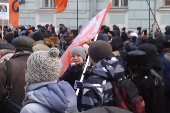 На лице руководителя КРИ Жени Отто красовался синяк под глазом после встречи с анархо-гомофобами из ЧКБ