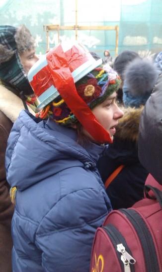 Такой вот романтический Майдан в Москве с символикой царизма, геями, кастрюлями на голове, флагами ЕС и УПА