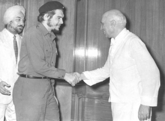 Встреча Эрнесто Че Гевара с Джавахарлалом Неру