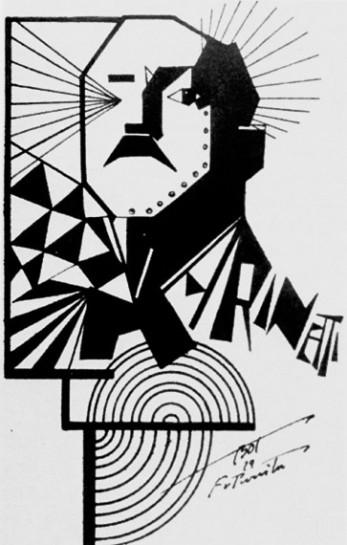 """Ко времени приезда в Россию в 1914-м Филиппо Маринетти стал уже """"иконой футуризма"""""""
