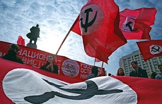 Появление Национал-Большевистской Партии было предопределено поражением СССР в Холодной войне и провалом попытки «красно-коричневого» восстания в октябре 1993 года