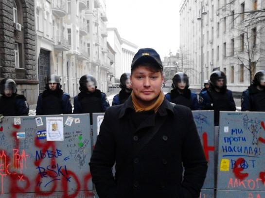 """""""Уже к 2011 году я понял, что нужно действовать иначе, — экспериментировать и набираться опыта у более эффективных украинских националистов, которые проводили в Украине внушительные массовые и регулярные акции"""""""