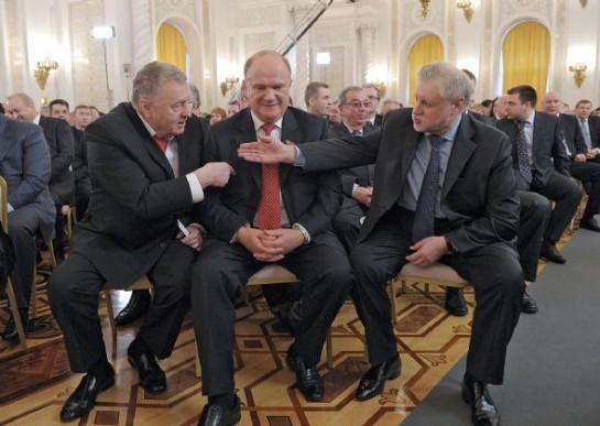 Лидеры российских левых радуются аннексии Крыма вместе с разного рода имперцами.