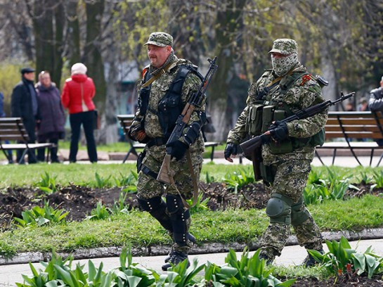Типичные жители Славянска - по мнению ряда российских обозревателей