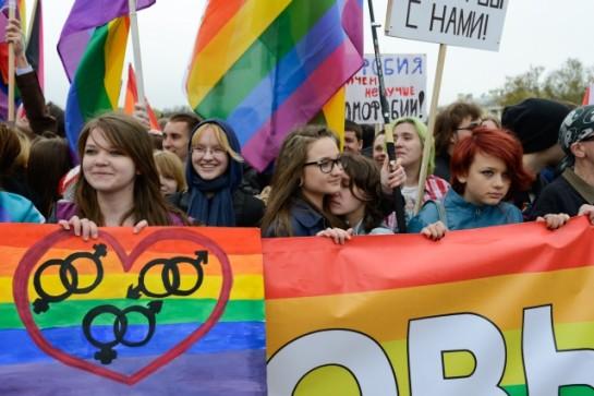 1 мая в Петербурге геи шли сзади всех