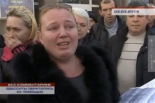 Мадам Ципко - любимый персонаж видеорепортажей российских СМИ, знаменитая гастролерша из Одессы, которая представляла в Киеве на Антимайдане «солдатских матерей», в Крыму — беженцев от зверств киевских бандеровцев, отметилась гастролями и видеоинтервью в Харькове и Донецке и, конечно же в самой Одессе, сбором средств для Куликова поля, а потом внезапно обнаружилась в Москве возле посольства Украины с новой серией страшилок