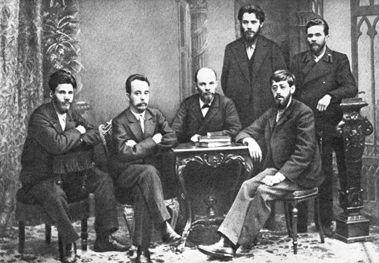Союз борьбы за освобождение рабочего класса. На фото Ленин в центре - за столом