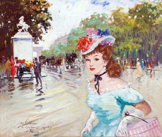 «Женщина, в силу своей природы и назначения, ищет блеск и роскошь; это для неё необходимо» / Картина Франсуа Жерома