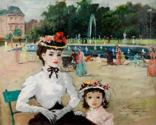 """""""Женщина сотворена для семьи и чувствует весьма мало влечения к общественным делам. То, что мужчина способен сделать ради друзей и общественного блага, то женщина сделает для самой себя и для своих детей"""" / Картина Франсуа Жерома"""