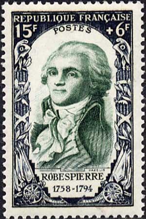 Maximilien François Marie Isidore de Robespierre, Максимилиан Франсуа Мари Исидор де Робеспьер; 6 мая 1758, Аррас — 28 июля 1794, или 10 термидора II года Республики, Париж