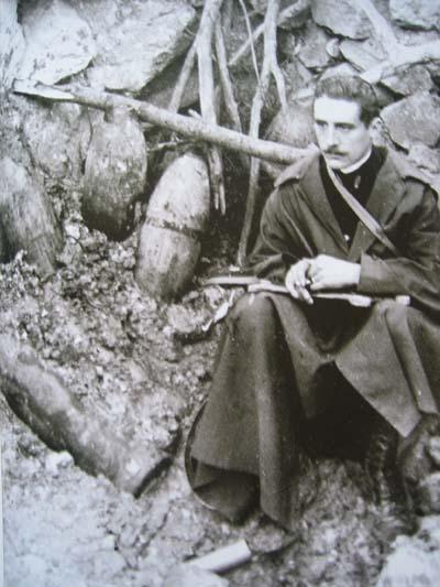 Анри Барбюс (1873-1935) на Первую мировую войну ушёл добровольцем