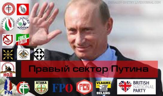 Российские СМИ лишь вскользь упоминают и не заостряют внимание на связях путинского режима с европейскими ультраправыми организациями. Связей таких немало, как и немало ультраправых в Европе, поддерживающих политику Путина