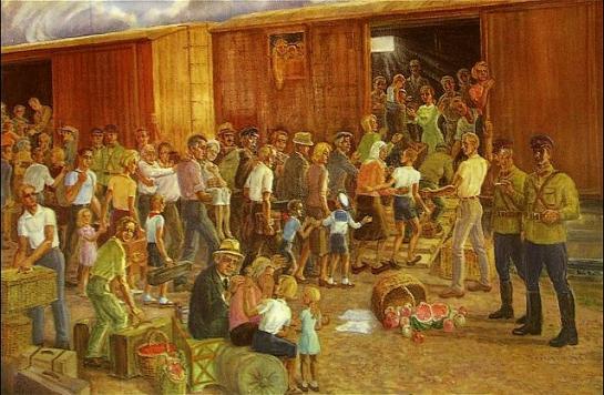 Для миллионов людей — немцев, чеченцев, итальянцев, евреев, венгров, черноморских греков, поляков, украинцев, румын — окончание Второй мировой войны обернулось потерей родины