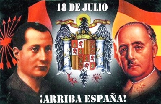 Неприязнь Франко к Хосе Антонио Примо де Ривере всячески им скрывалась. Образ Франко как естественного наследника Хосе Антонио был одним из многих созданных вокруг имени каудильо мифов