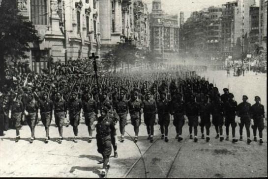 Рекетес - отдельные вооруженные формирования карлистов в составе национальной армии