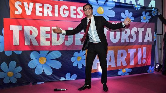 Главной сенсацией голосования стала отнюдь не ожидаемая победа левых, а успех крайне правой партии «Шведские демократы», возглавляемой Йимми Окессон