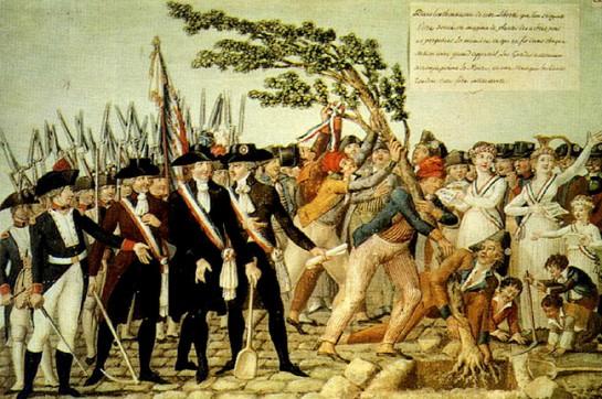 Народ, бывший долгое время жертвой монархического эгоизма, думал избавиться от него, заявив, что он один суверенен