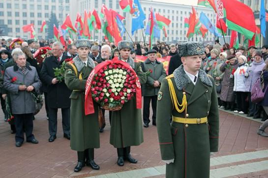 В Беларуси всё ещё официально празднуется День Октябрьской революции