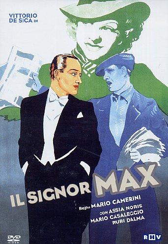 Главный герой фильма Марио Камерини «Il Signor Max», Джанни, его играет Витторио де Сика, волей случая сбрасывает свитер и сумку продавца газет и надевает вечерний костюм, набриолинивает волосы и оказывается на великолепном круизном лайнере в окружении высшего света Италии