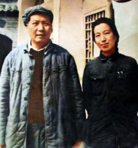 Мао и его четвёртая жена Цзян Цин в 1946 году