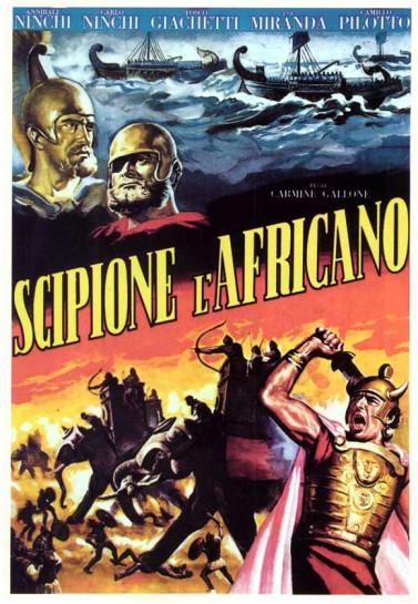 """""""Scipione l'Africano"""" реконструирует  эпизод из истории Древнего Рима, а именно Вторую Пуническую войну, борьбу за Средиземноморье и битву при Заме"""
