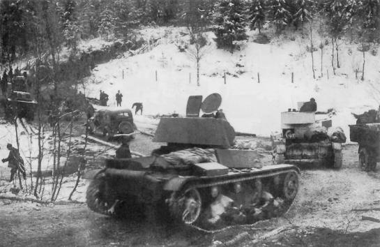 Наступление войск 7-й армии в Карелии. Декабрь 1939 года