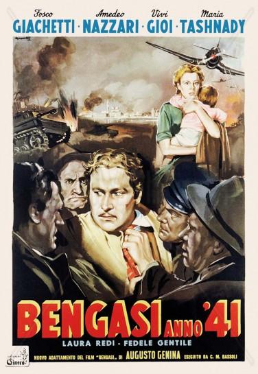 """""""Bengasi"""" Аугусто Дженины являет собой великолепный пример итальянского кинематографа военного периода"""