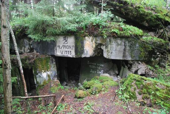 Бункер на линии Маннергейма