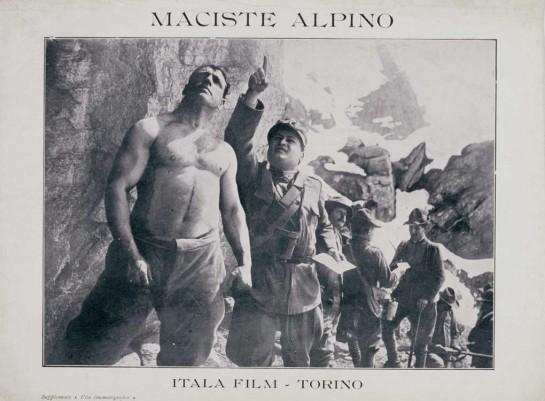 """Прообразом архетипа торжества силы стал самый первый фильм — """"Maciste l'Alpino"""". В данной ленте герой Пагано, итальянский солдат, справляется с целой ротой австрийцев"""