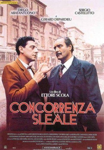 """В комедии, """"Concorrenza sleale"""" («Нечестная конкуренция», 2001), снятой Этторе Скола, сюжет строится на противостоянии двух торговцев во время принятия расовых законов 1938 года"""