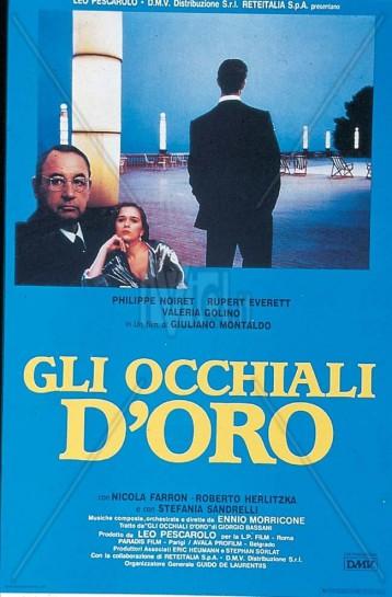 """Типичным «новым итальянским кино» о фашизме является лента """"Gli occhiali d'oro"""" («Очки в золотой оправе», 1987)"""