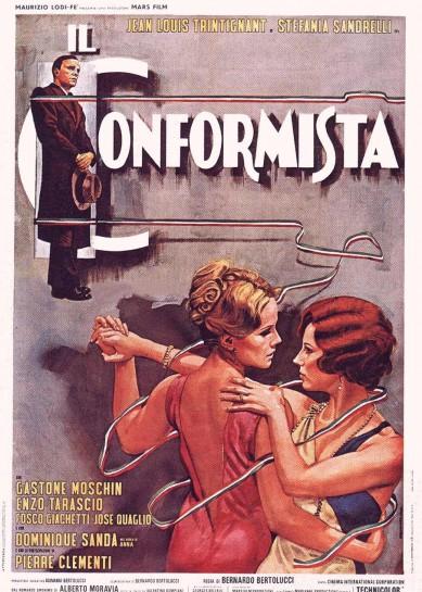 """В """"Il conformista"""" («Конформист», 1970) Бертолуччи делает протагонистом непосредственно фашиста"""