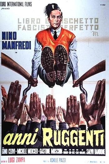 """Комедия Луджи Дзампа """"Gli anni ruggenti"""" («Ревущие годы», 1962) представляет собой вольную адаптацию гоголевского «Ревизора»"""