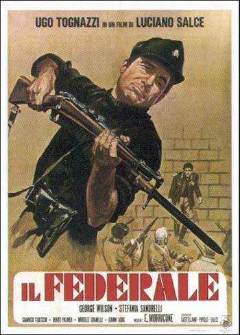 """Сюжет """"Il Federale"""" строится вокруг задания, полученного Арковацци: ему поручается найти и конвоировать в Рим профессора Бонафе, философа-антифашиста, в своих работах защищающего евреев"""