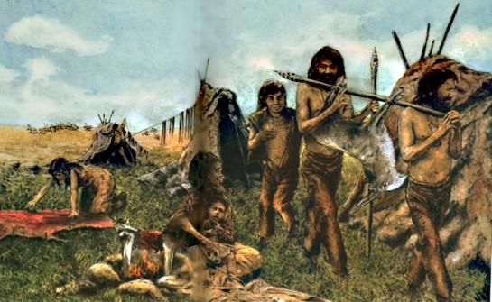 Кроманьонцы - не обозначение вида и тем более не народа или этноса, а также не зависит от места обитания
