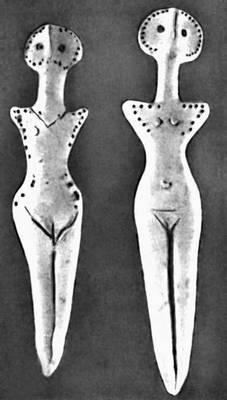 Трипольцы поклонялись великой матери-богине, являющейся символом материнства и плодородия
