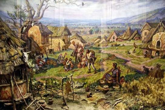 Триполье - это фактически первая мировая Цивилизация. Абсолютно не логично ставить её в один ряд с предшествующими так называемыми «культурами» ледниковых кроманьонцев и неандертальцев