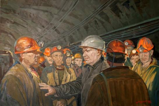 Ельцин в наиболее «критические» для него дни борьбы за личную власть приезжал в районы трудовых конфликтов, выступал на митингах и других мероприятиях горняков, как это было в августе 1990 года в Новокузнецке
