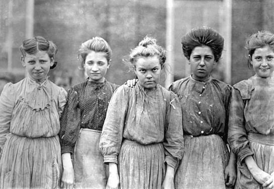 Женщины-работницы. Америка, начало XX века
