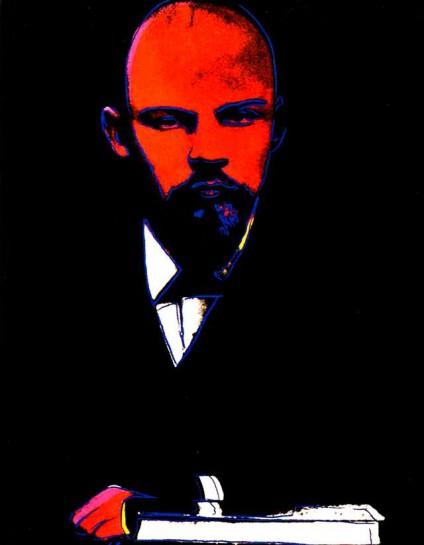"""Энди Уорхол """"Чёрный Ленин"""""""