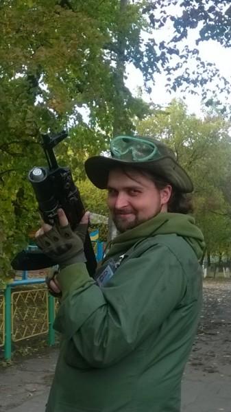 """Андрей Морозов, ополченец """"Новоросии"""" из Москвы, бывший активист """"Красного блицкрига"""""""