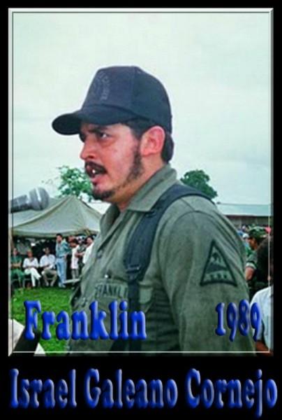 Олицетворение боевика-контрас — Исраэль Галеано, он же Команданте Франклин